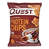 Protein Chips, BBQ, 1.1 Ounce (Pack of 12) - 1