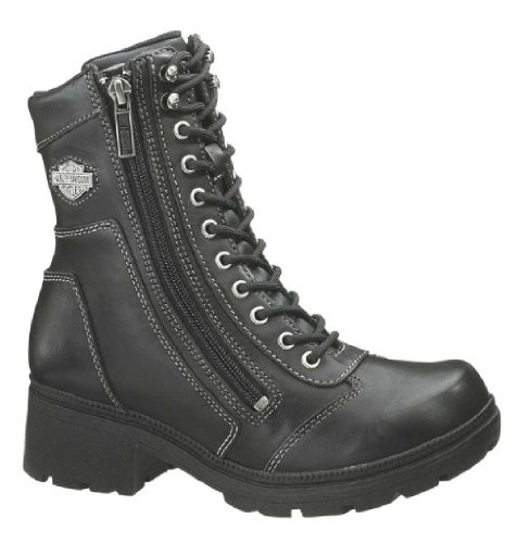 (Harley-Davidson Women's Tessa Casual Boot ,Black,7.5 M )