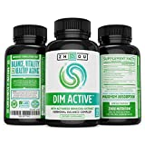 DIM Active™ DIM Supplement - Menopause and Estrogen Metabolism Supplement with 250mg DIM plus Broccoli Seed Extract and Bioperine� - Hormone Balance Support for Women and Men - 60 Capsules