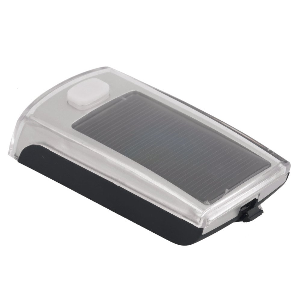 Bike Bicycle 4 LED Solar Powered USB 2.0 Rechargeable Front Light by Isguin (Image #3)