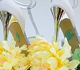 Wedding Rhinestone I Do Shoe Applique Stickers