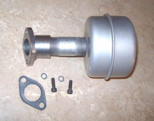 Exhaust Assembly with Manifold and Gasket for Gravely Model L (Replaces 12606)