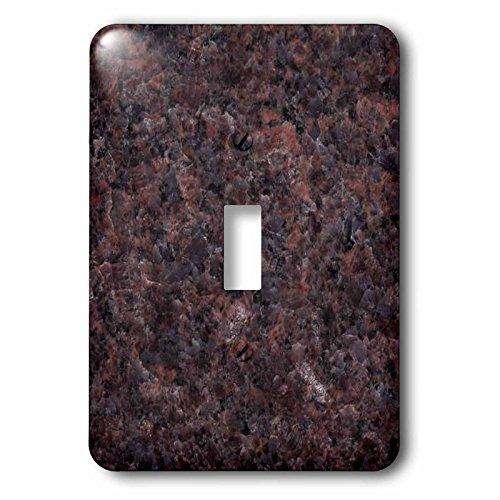 Mahogany Granite Dakota (3dRose LLC lsp_97945_1 Dakota Mahogany Granite Single Toggle Switch)