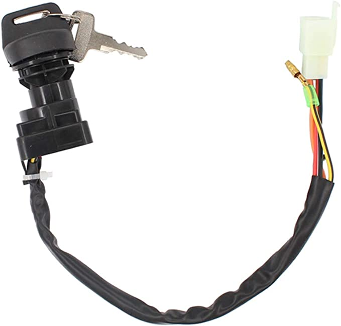 Amazon.com: Ignition Switch w/Keys for Suzuki King Quad 300 LTF300F LTF4WDX  Quadrunner 250 4WD LTF250 LTF250F LTF4WD: AutomotiveAmazon.com