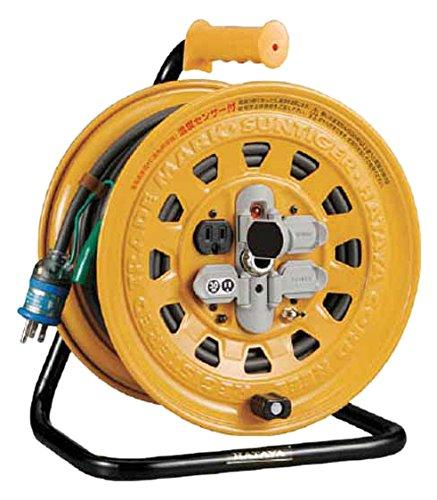 ハタヤ 温度センサー付コードリール 単相100V30M BG30S B0099KY81Y