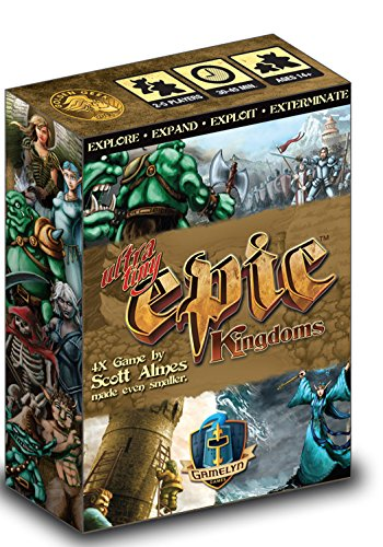 Tiny Epic Kingdoms Strategy Board Game A Small Box 4X Fantasy Game Gamelyn Games GSTGMGTINY01