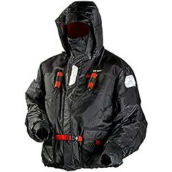 Frabill Mens I-Float Jacket, Black, Medium