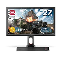BenQ ゲーミングモニター ディスプレイ ZOWIE XL2720 27インチ FullHD/TNパネル/144Hz/1ms/Black eQualizer/S.Switch/DVI-DL/DP/HDMI1.4x2