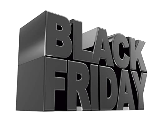 Vinilo Black Friday Escaparates Rebajas texto Black Friday ...