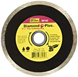 IVY Classic 38162 Diamond Plus 4-1/2-Inch Dry and Wet Tile Cutting Continuous Rim