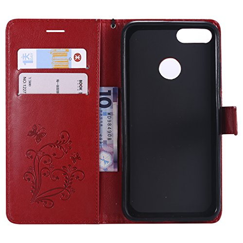 MiA1 Vert Aimant Anti Housse Rabat Carte 5X avec par Mi5X Rouge pour Porte Cuir Xiaomi LOKTU22784 Protection Portefeuille Coque de Fermeture Etui Mi Lomogo A1 Choc en Xiaomi Mi wpaTqxq4