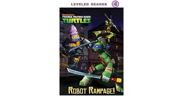 Robot Rampage! (Teenage Mutant Ninja Turtles) (English ...