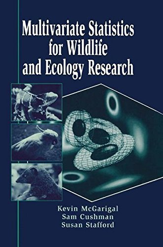 Multivariate Statistics for Wildlife and Ecology Research by Kevin McGarigal (2000-06-16)