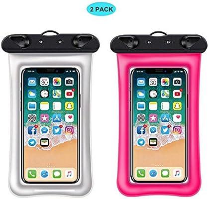 Floating] Estuche impermeable para teléfono celular, RANVOO Dry Bag Pouch para iPhone X 8 8 Plus
