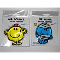 Mr Men Cold Pack Gel Bruise Soother Mr Bump & Mr Bounce ( 2 pack )