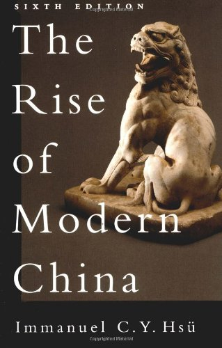 The Rise of Modern China