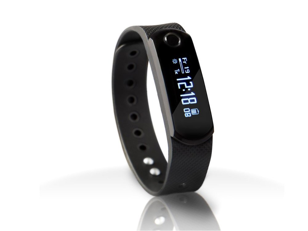 Smart Fitness Tracker Activity Wristband - Heart Rate / Health / Sleep / Sports / Calories / Steps Monitor - Bluetooth 4.0 - Sports Pedometer Water Resistant - Smartphones / iPhone Android