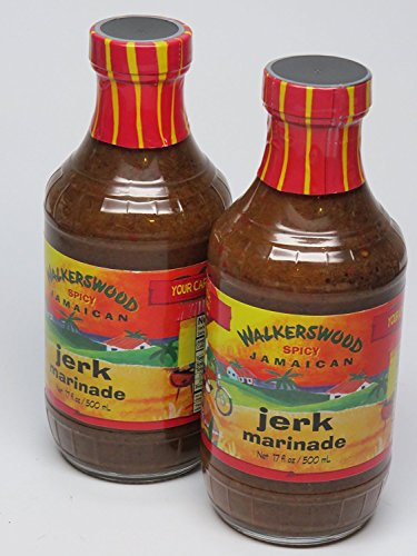 Jamaican Jerk Marinade Seasoning Sauce - Achieve the Absolute Traditional Island Flavor Taste Formulated |Perfect on Marinating Meat, Chicken, Fish, and Seafoods | 500ml 2 PACK