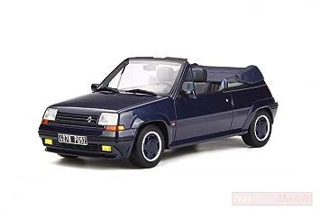 NEW OTTOMOBILE OT280 Renault 5 Turbo CABRIOLET by EBS Sport Blue 1:18 Die Cast Model: Amazon.es: Juguetes y juegos