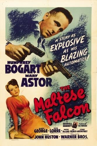 Maltese Falcon Movie Poster #01