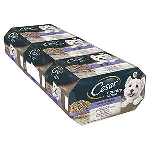 Cesar Country Kitchen – Comida para perros, selección especial, 8 x 150 g, paquete de 3