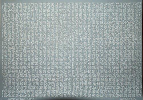 Flexistamps Texture Sheet - Burlap Bag Full Sheet by FlexiStamp