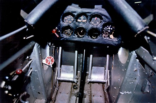 Home Comforts Laminated Poster Curtiss P-6E Hawk Cockpit at The National Museum of The United States Air Force Vivid Imagery Poster Print 24 x 36