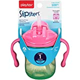 Playtex Sipsters Stage 1 Straw Sippy Cups - 6 Ounce (Color May Vary)