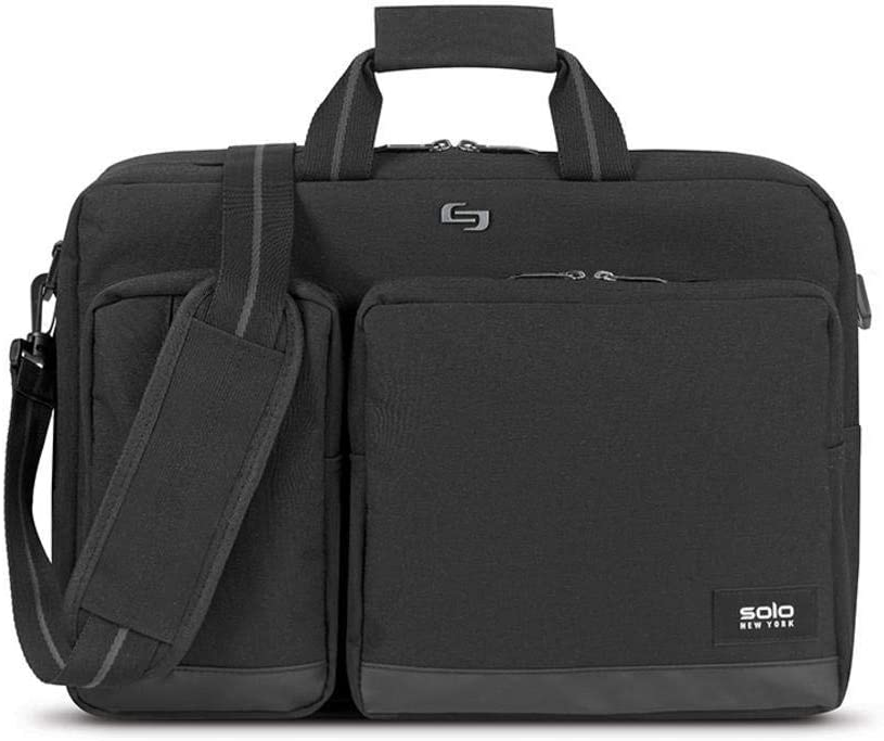 Solo New York Duane Hybrid Briefcase, Black, One Size
