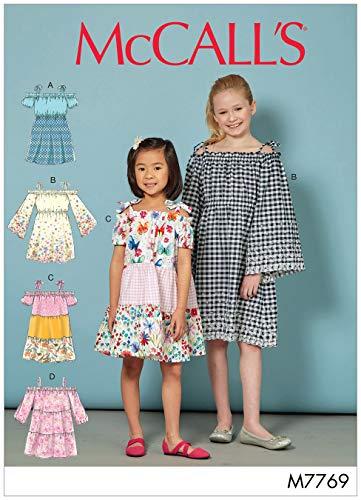 McCall's Patterns M7769CCE Dress Pattern