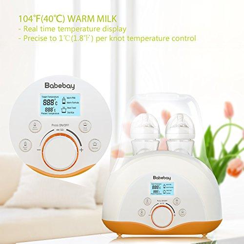 Baby Bottle Warmer, Bottle Sterilizer & Smart Thermostat 4-i