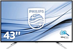 "Philips BDM4350UC Monitor da 43"", 4K UHD 3840 x 2160, LED IPS, M"