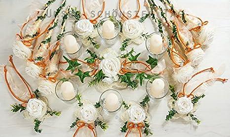 Decorazioni Matrimonio Arancione : 25 pezzi il centrotavola arancione per matrimonio tavolo decorazione