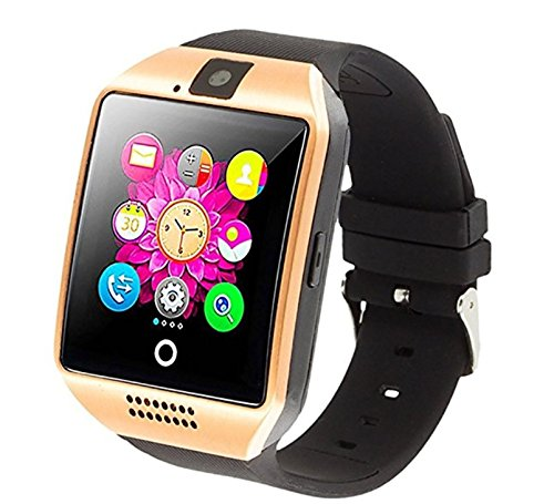 Amazon.com: Smart Watch with Camera, Ezone Q18 Bluetooth Smartwatch with Sim Card Slot Fitness Activity Tracker Sport Watch for Android Smartphones (White): ...