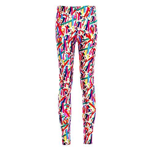 MKP Leggings Women Fancy Version colorful Crayon Graphics Printed Leggings