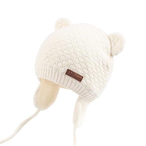 Subfamily Sombreros bebé, Invierno Sombrero de Punto de 0-36 Meses ...