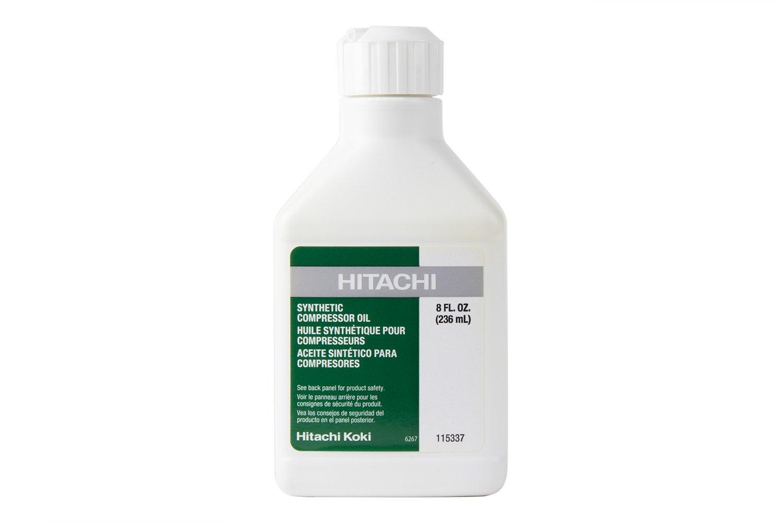 Hitachi 115337 Synthetic Compressor Oil Bottle, 8 oz