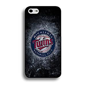 Iphone 6 Plus (5.5 Inch) Case Thin Protective MLB Minnesota Twins Baseball Team Logo Sports Designs Hard Plastic Tpu Style Durable Protection Phone Accessories Case Cover for Men