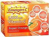 Emergen-C Vitamin C Drink Mix Packets Super Orange 30 Each (Pack of 7)