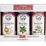 La Tourangelle, Sesame, Thai Wok, Pan Asian Stir Fry Trio of Oils, 25 Ounce