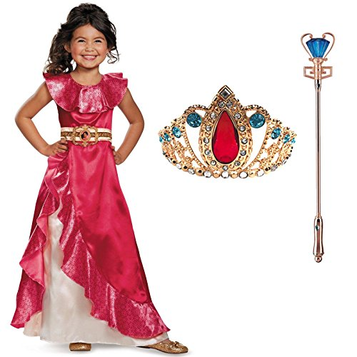 Elena of Avalor Elena Adventure Dress Classic Child Costu...