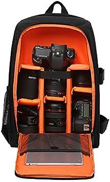 ETbotu Camera Sac /à Dos /étanche Digital DSLR Camera Vid/éo Sac SLR Camera Sac /à Dos PE Rembourr/ée pour Photographe