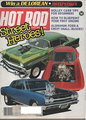 Hot Rod Magazine February 1982 Street Heroes!