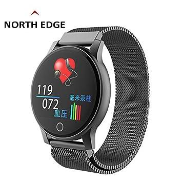 Qomomont Smartwatch Reloj Inteligente Hombre Mujere Pulsera ...
