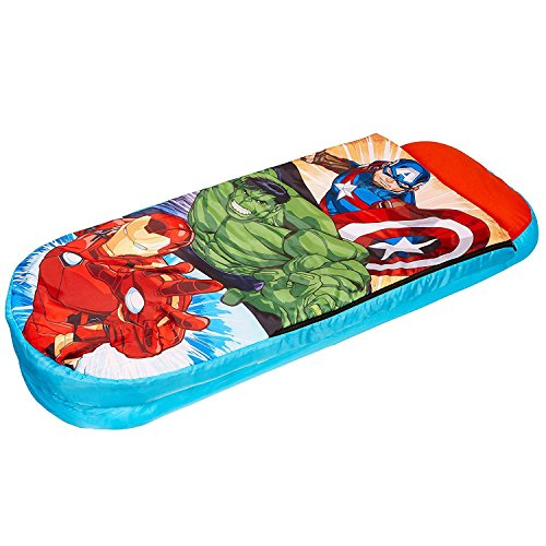Worlds Apart Marvel Avengers Junior Ready Bed Sleepover Solution