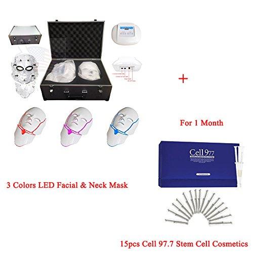 Miss Ammy LED Photon Face&Neck Mask 3 color Facial Skin Reju
