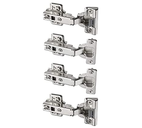 KOMPLEMENT NEW IMPROVED  STANDARD WARDROBE HINGE *BRAND NEW 4 PACK* IKEA PAX