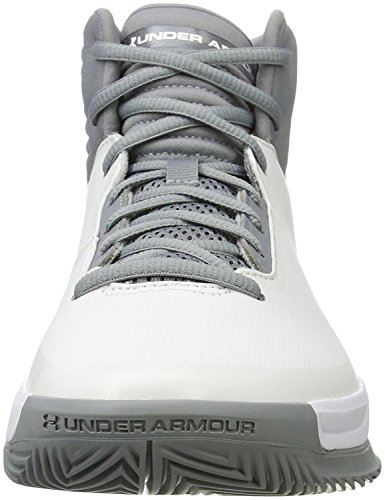 UA Chaussures Under Lockdown Homme Steel Armour White 2 de Basketball Steel qIgw4Zg5p