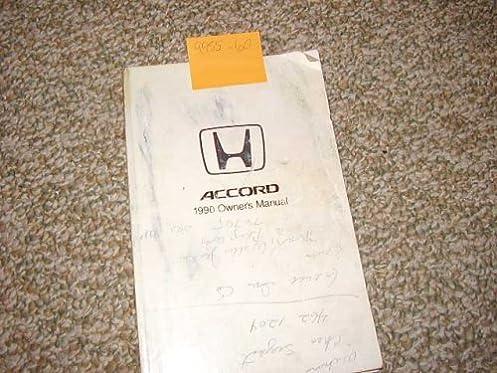 1990 honda accord owners manual honda amazon com books rh amazon com 1990 honda civic owners manual pdf honda civic 1990 service manual download