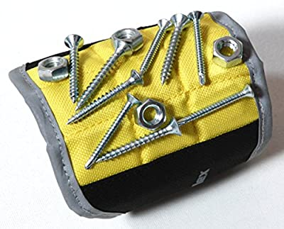 Magnelex - Best Magnetic Wristband for Holding Tools, Screws, Nails, Bolts, Drilling Bits, Screwdriver Bits. A Must Have Item in Your Tool Bag, Tool Box. Perfect Handyman Gear for Do It Yourself, Auto Repair, Home Projects. Unique Gift Idea